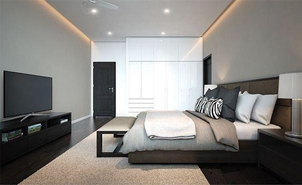 Bố trí giường ngủ hợp phong thủy