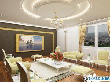 Thiết kế tường – Trần thạch cao theo phong thủy