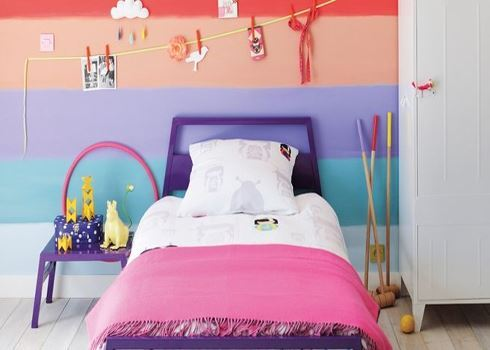 Những mẫu phòng ngủ đẹp cho bé gái